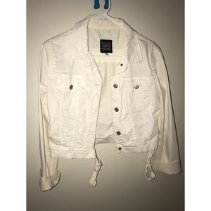 Krizia White Jeans Jacket size 8